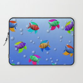 Bright Tropical Fish Laptop Sleeve