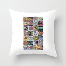 Crash Boom Bang ... Throw Pillow
