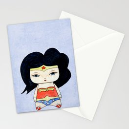 A Girl - Wonder W Stationery Cards