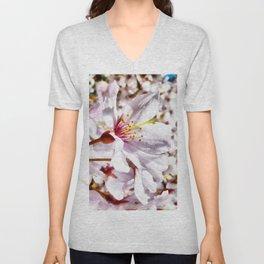 The Cherry Blossom Unisex V-Neck