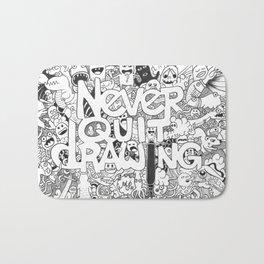 Doddle | Never Quit Drawing Bath Mat