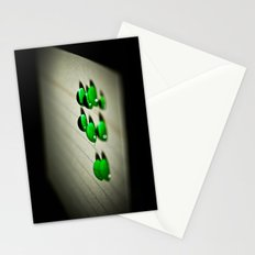 Emerald Rain Stationery Cards