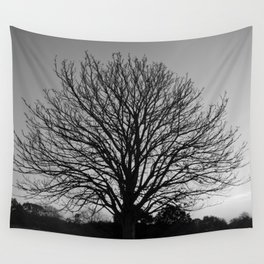 richmond park- b-w Wall Tapestry
