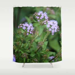 September Wildflowers Shower Curtain