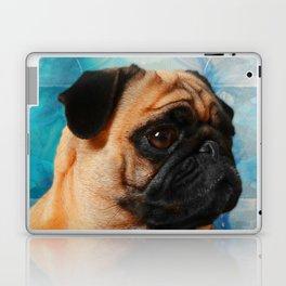Pug dog Digital Art Laptop & iPad Skin