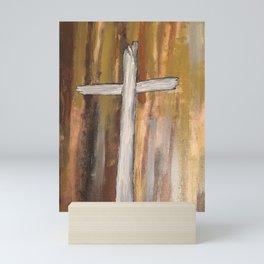 Old Rugged Cross Mini Art Print