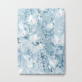 Winter Flowers Metal Print