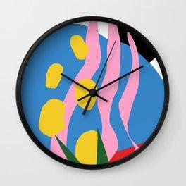 Sandworm Botanical Wall Clock