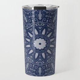 Indigo Mystique Mandala Travel Mug