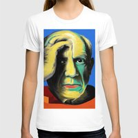 pablo picasso T-shirts featuring Pablo by Zmudart