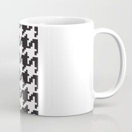 Houndstooth - Black & White Coffee Mug