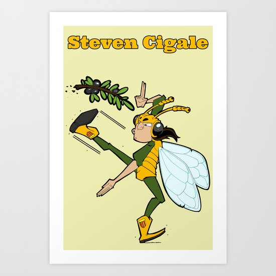 Steven Cigale Art Print
