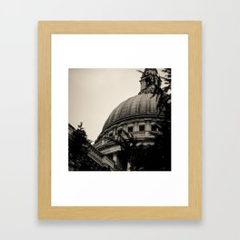 St Paul's Cathedral. Framed Art Print