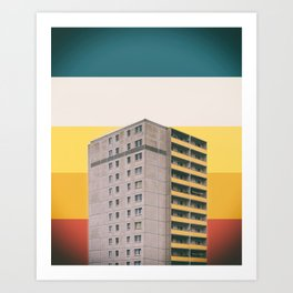 Colorscape IV Art Print