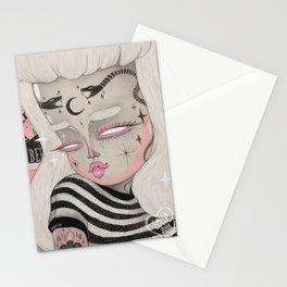 Teenage Ghoul Stationery Cards