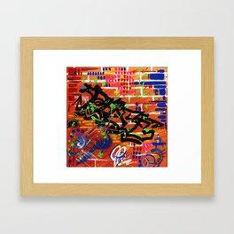 """PEACE"" Framed Art Print"