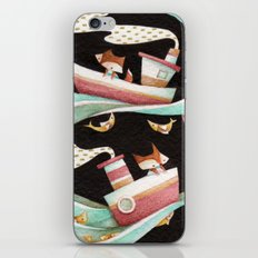Guided By Fishes iPhone Skin