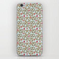 Pattern Project #43 / Pretzel Love iPhone & iPod Skin