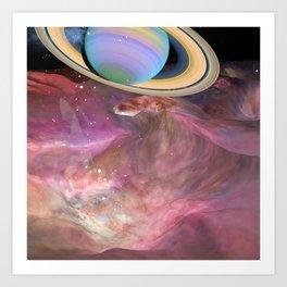 What a planet Art Print