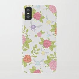 Garden of Fairies Pattern iPhone Case