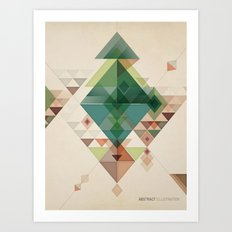 Abstract illustration Art Print