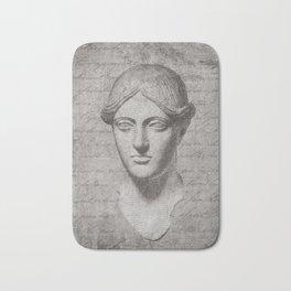 ANCIENT / Head of a Woman Bath Mat