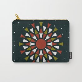 Holiday Mandala Carry-All Pouch
