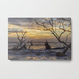 Dawn Silhouettes 05 Metal Print