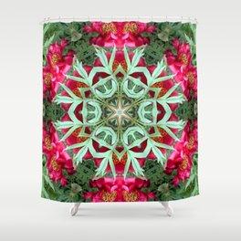 Peony Rose Florii Shower Curtain