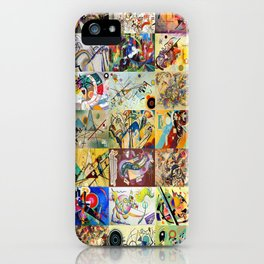Wassily Kandinsky Montage iPhone Case