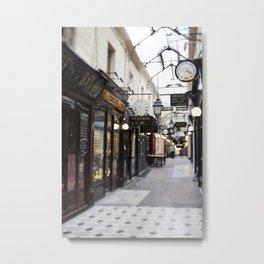 Bijoux Curiosities, Passage des Panoramas - travel photography Metal Print
