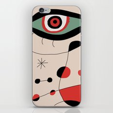 Tribute to J. Mirò (n.1) iPhone & iPod Skin