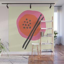 Frugal Food Sixties Wall Mural