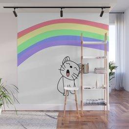 Snow's Rainbow Wall Mural