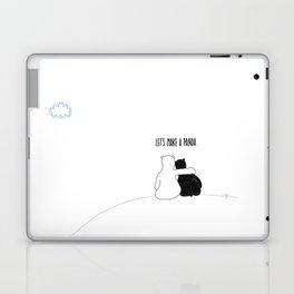 Let's Make a Panda Laptop & iPad Skin