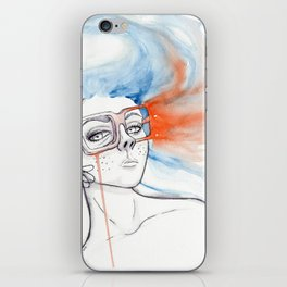 Fading away iPhone Skin