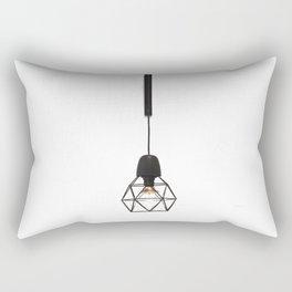 Modern Lamp (Color) Rectangular Pillow