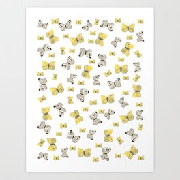 Danish Butterflies Art Print
