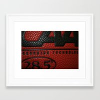 basketball Framed Art Prints featuring Basketball by Danielle Podeszek