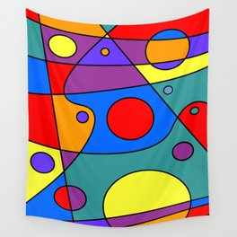 Abstract #71 Wall Tapestry