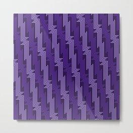 Op Art 87 Metal Print