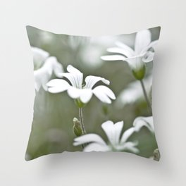 Stitchwort. Throw Pillow