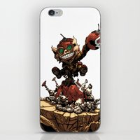 league iPhone & iPod Skins featuring League of Legends Ziggs by Joel Cumpson