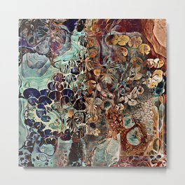 Entangled Mind Painting Metal Print