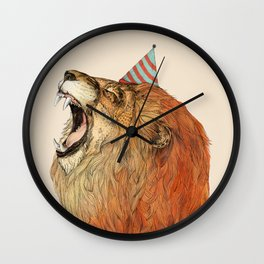 Birthday Lion Wall Clock