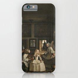 Las Meninas - Diego Velazquez iPhone Case