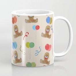 Teddy and Balloons Coffee Mug
