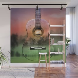 classic Spanish guitar  Wall Mural