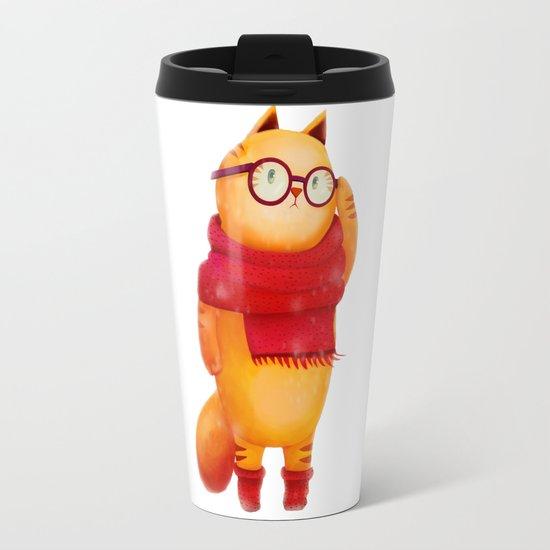 Smart cat Travel Mug