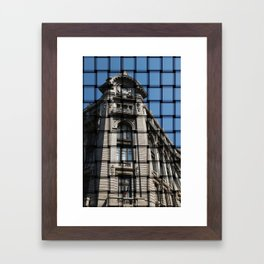 fachada Framed Art Print